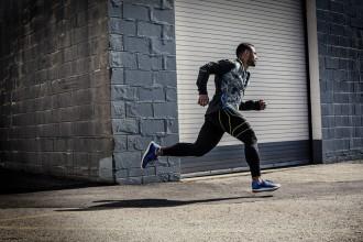 Gutes Motto von Reebok für die Running-Kollektion: #BeMoreHuman