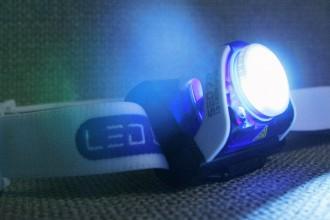 Wie ein Licht in dunkler Nacht: Die Stirnlampe SEO R7 von Led Lenser