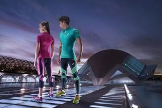 Eng & stylish: Die Kompressionshose Leg Balance Tight von Asics - Bild: (c) Asics