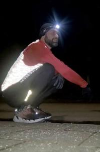 Da staunt er: Die Trail Runner 2X USB von Silva macht ordentlich Licht - Foto: Alex Rudolph
