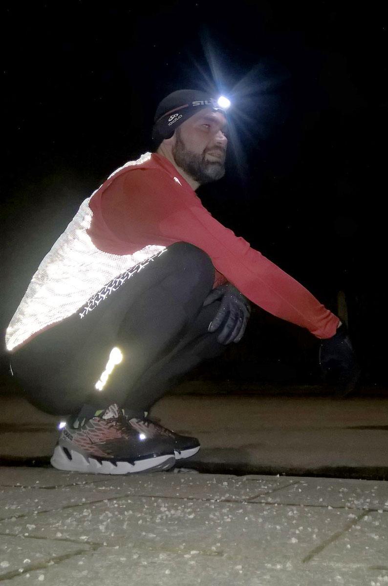 Da staunt er: Die Trail Runner 2 USB von Silva macht ordentlich Licht - Foto: Alex Rudolph
