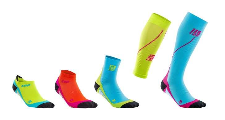 Da ist für jeden Läufertyp etwas dabei: Doch Sockenvarianten aus dem Hause CEP - Foto: Hersteller