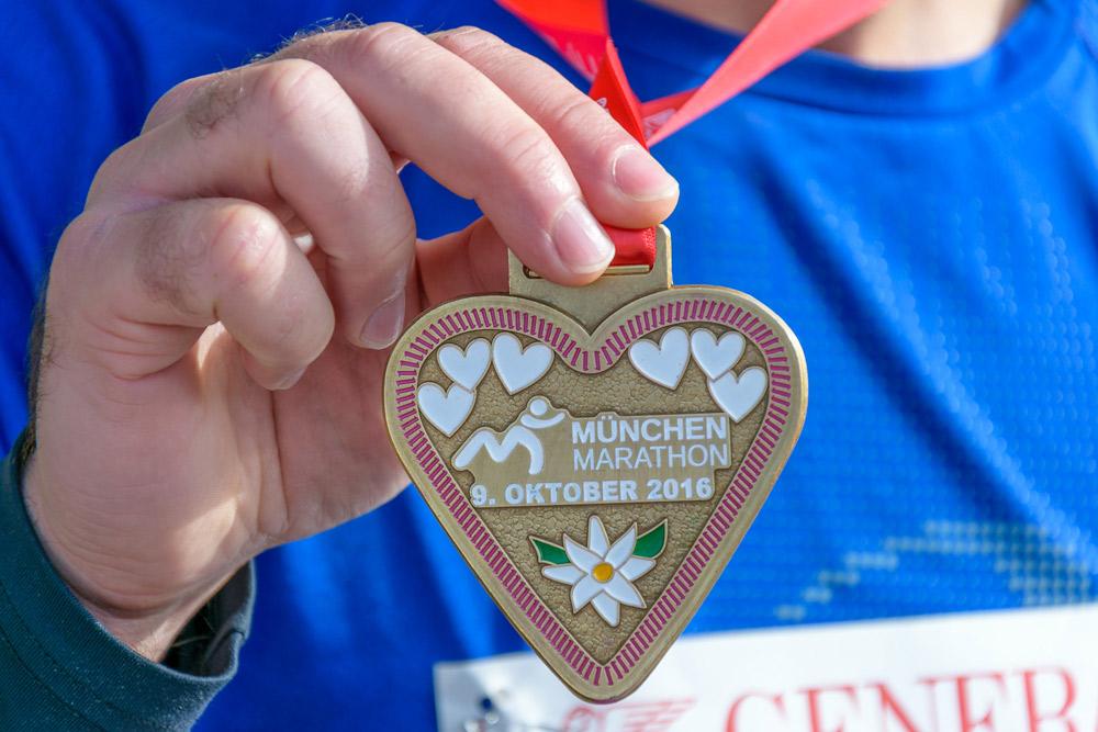 Die Finisher-Medaille von München 2016 - Foto: Alex Funk