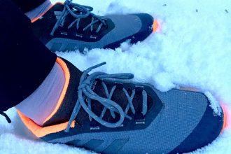 Laufen bei Schnee und Eis ist - auch wenn die Lunge manchmal wegen der Minustemperaturen brennt - ziemlich cool