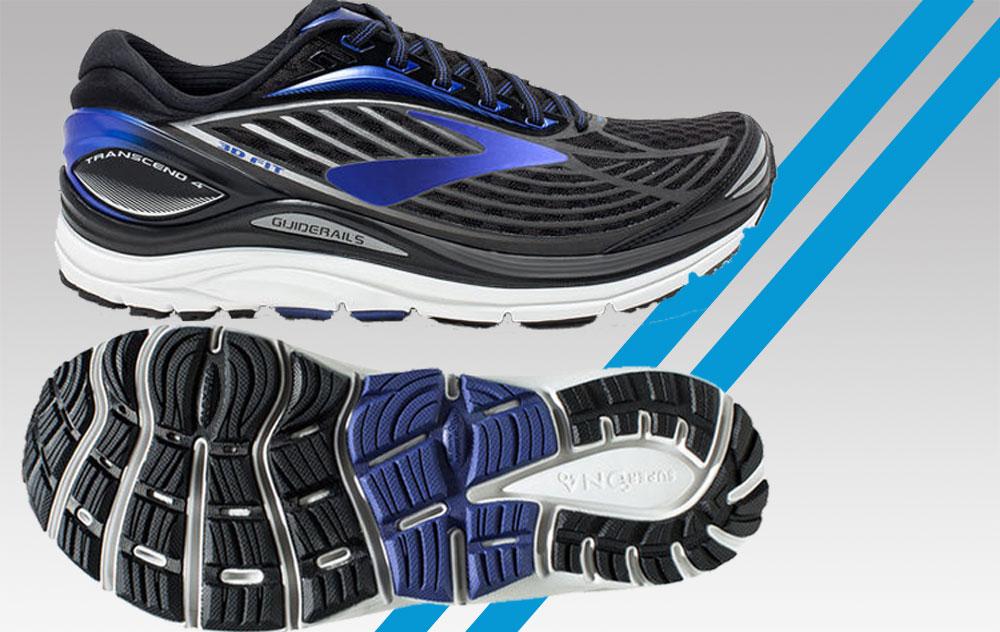 Gute Führung, gute Dämpfung - guter Schuh: Der Transcend 4 von Brooks - Foto: Hersteller