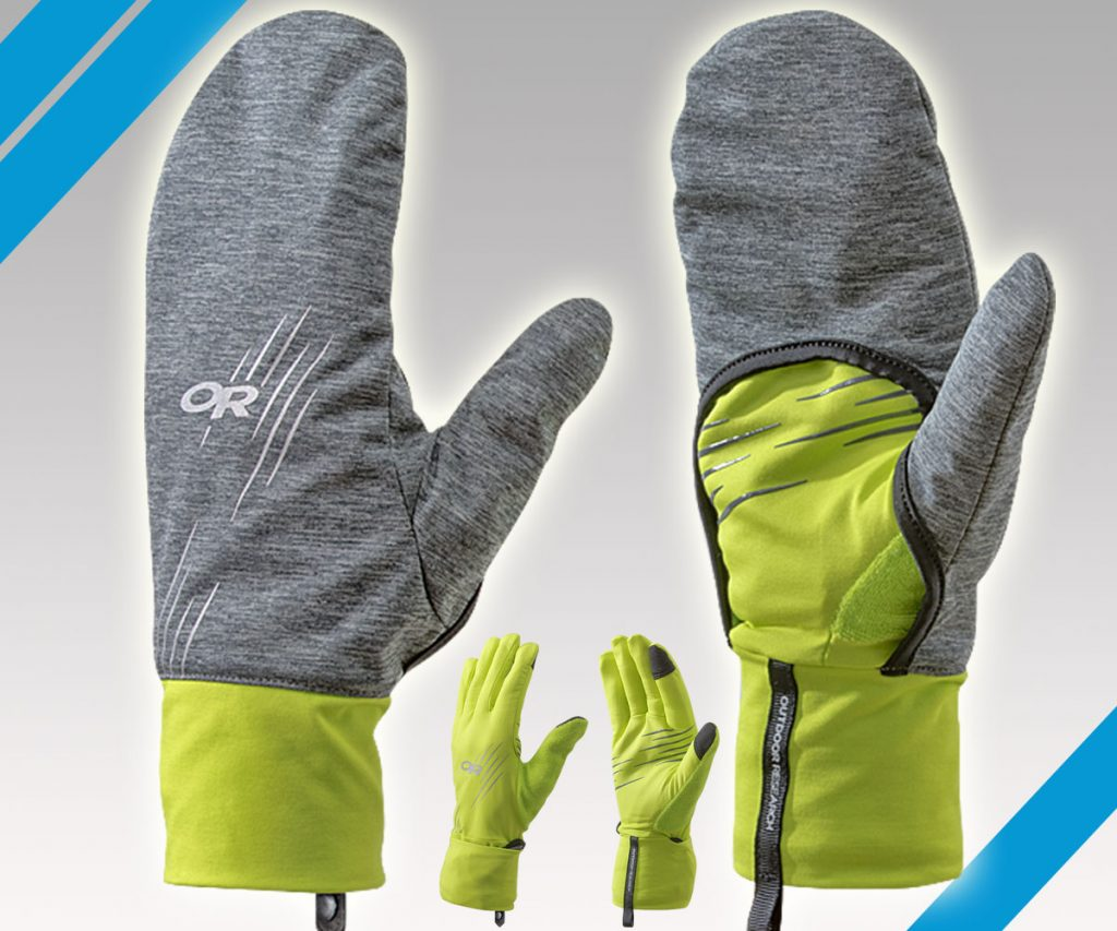 Wintertraum: Overdrive Convertible Gloves von Outdoor Research
