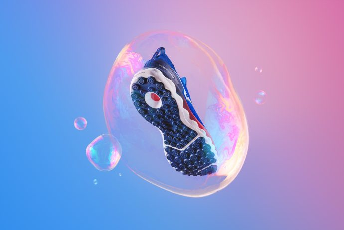 Läufer-Bubble: Mizuno Wave Sky Neo